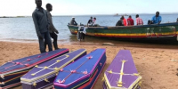 Burials begin for victims of Tanzania ferry disaster that left 224 dead