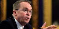 Trump names budget director Mick Mulvaney as chief of staff