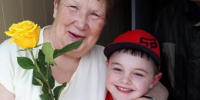 Meet the little boy who gave a rose — 155 of them — to every...