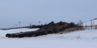 'You can smell crude in the air': Train carrying oil derails in western Manitoba