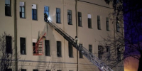 University building in St. Petersburg partially collapses
