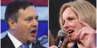 Rachel Notley and Jason Kenney go head to head as Alberta election called for April...