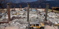 After deadly wildfire, California town now has cancer-causing chemical in water