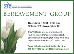 Virtual bereavement group webad