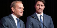 EU president takes shot at Trump's 'unacceptable' tweets after Trudeau meeting