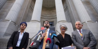 Civil rights groups seek appeal of judge's refusal to freeze parts of Quebec's religious symbols...